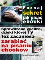 Poznaj sekret jak pisać ebooki