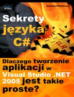 Sekrety języka C# (c-sharp)